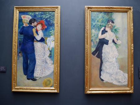 以前上野で開催された展覧会で見た絵が、何気なく展示されています。日本では行列ができていたのですが。