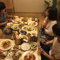 宮本さんお手製の美味しいお料理! ごちそうさまでした。